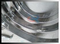 316L医药级筛分机框体内部展示