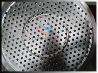 医药级振动筛分机冲孔板
